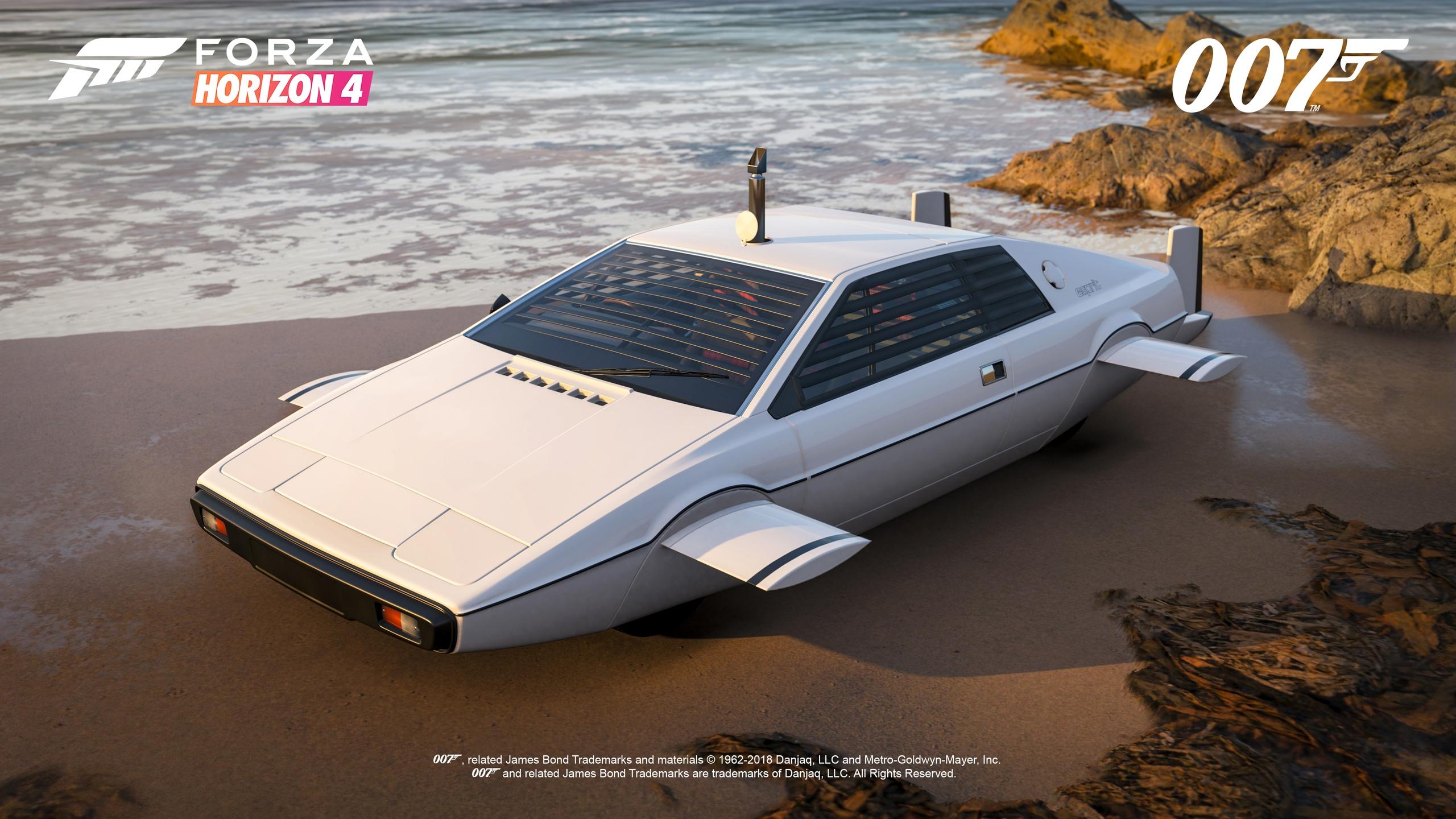 Best of Bond Car Pack — первое DLC для Forza Horizon 4