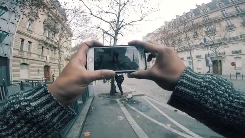 Полиция Парижа против горизонтальной съёмки