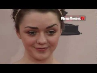 Maisie Williams Arya Stark arrives at An Evening with The Game of Thrones