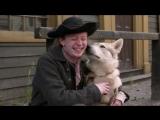Yong Ian with Roll oon Outlander Season 4 wrap