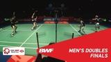 F MD GIDEONSUKAMULJO (INA) 1 vs LILIU (CHN) 2 BWF 2018
