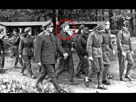 Angela Merkel Chancellor of Germany pictured at communist party march in soviet Germany in 1972!!