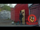 Установка замка Барьер на гаражную дверь