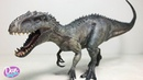 NEW! THE BEST INDOMINUS REX EVER! New Jurassic World Dinosaur Toy Figure from Nanmu Studio for Kids