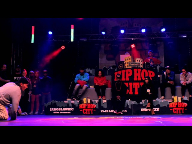 SEMIFINAL | HIP HOP CITY | All Styles 1 vs 1 - Prozi vs Kaczorex |