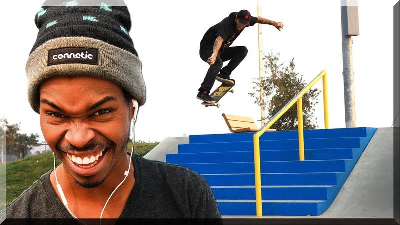 Braille Team DESTROYS Napa Skatepark!