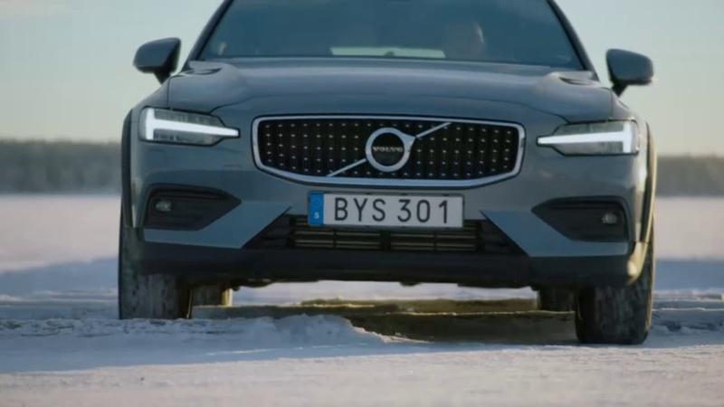 2020 Volvo V60 Cross Country Buz pisti ve Engel performansı
