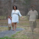 Трогательные семейные снимки с отцом, который погиб незадолго до рождения малыша