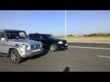 Jeep SRT8 против Mercedes G class