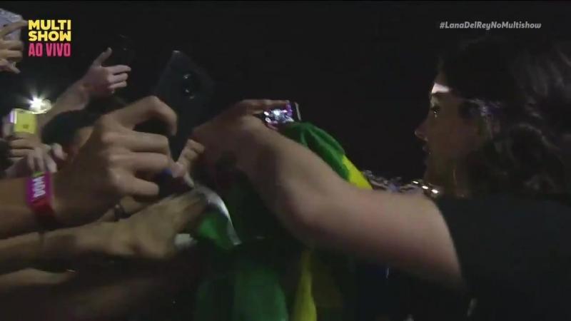 Lana Del Rey – BTD 2 (Live @ «Lollapalooza» / Бразилия)