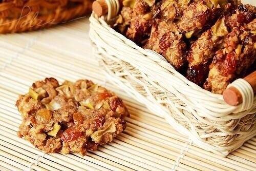 Овсяные печенья без муки диетические с фото