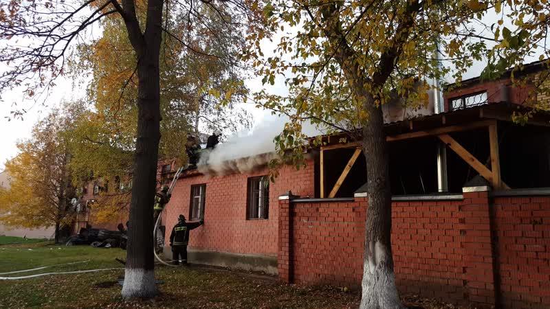 Пожар на Фабричной г.Раменское