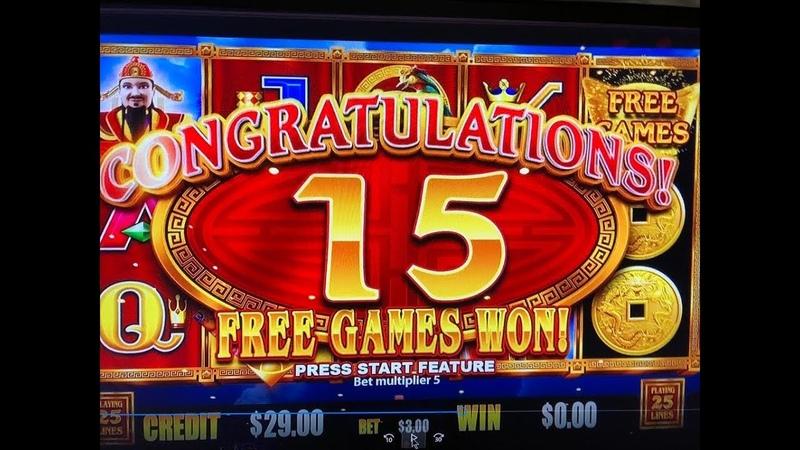 BIG WIN First Attempt★CHOY COIN DOA - DRAGON INGOT Slot Machine, Max Bet $3 San Manuel, Akafujislot