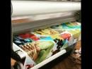 Автоматическая широкоформатная ламинация наклеек стикеров широкоформатнойпечати