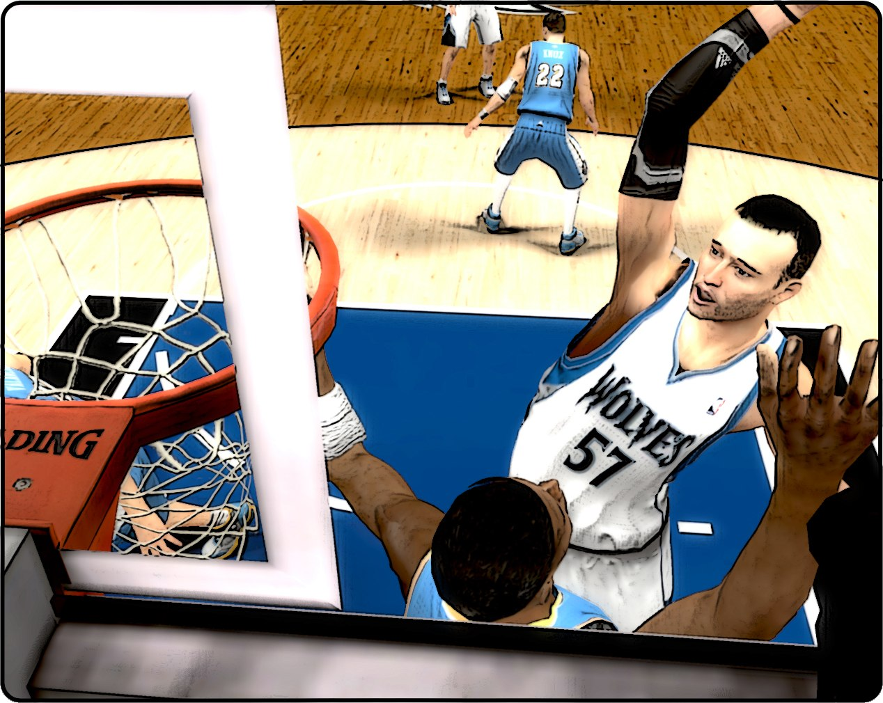 Wonderful camera NBA2K13