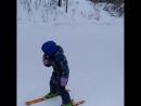 А нам нравится, что зима не закончилась ⛷ ... горныелыжи лыжи краснаяглинка quik