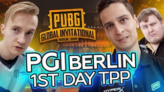 NAVI PUBG at PGI Berlin: 1st day TPP