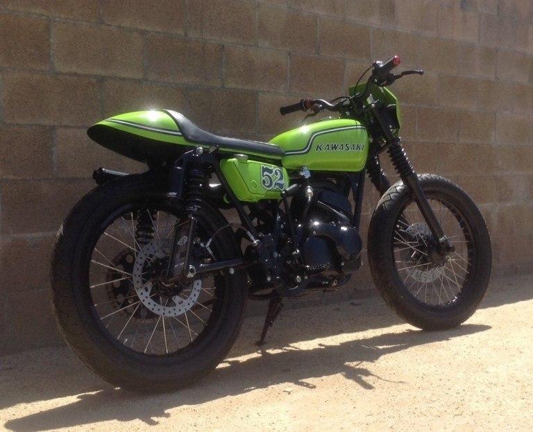 52 Cycles: стрит-трекер Kawasaki Bighorn 350