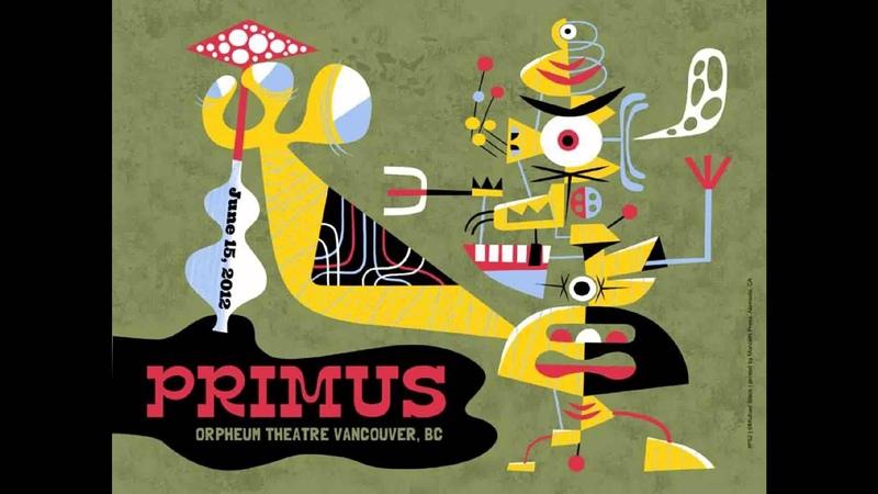 Primus 2012-06-15 Orpheum Theatre Vancouver BC