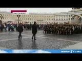В Санкт-Петербурге поклонники британского сериала Шерлок устроили флешмоб