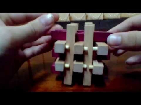 Обзор головоломки Деревянный Куб и головоломка Умные Гвозди (3 разных вида)
