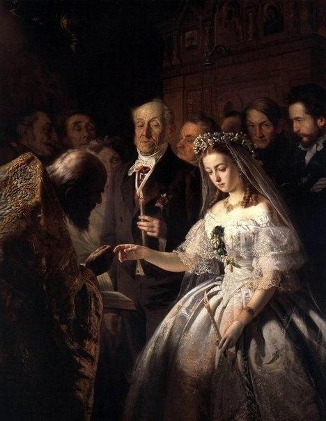 Неравный брак, Василий Пукирев, 1862 год