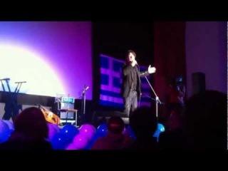 Эвклид Кюрдзидис на греческой вечеринке в Доме кино в честь дня
