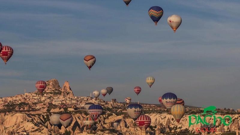 Cappadocia Hot Air Balloon. Pacho Tour