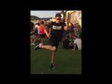 Hard brazilian dance