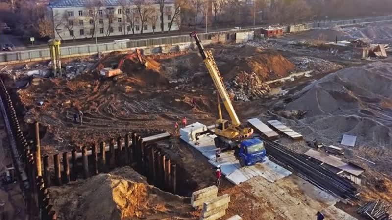 ЖК Михайловский парк, ход строительства от ГК Пик михайловскийпарк михайловский_парк жкмихайловскийпарк