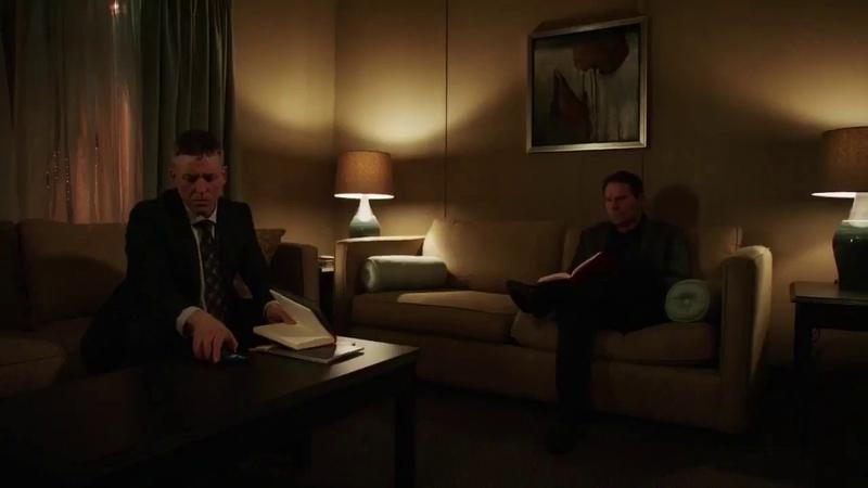 Prometheus (Adrian Chase) kills his bodyguards - Arrow S5xE18