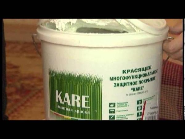 Теплоизоляционная краска Каре
