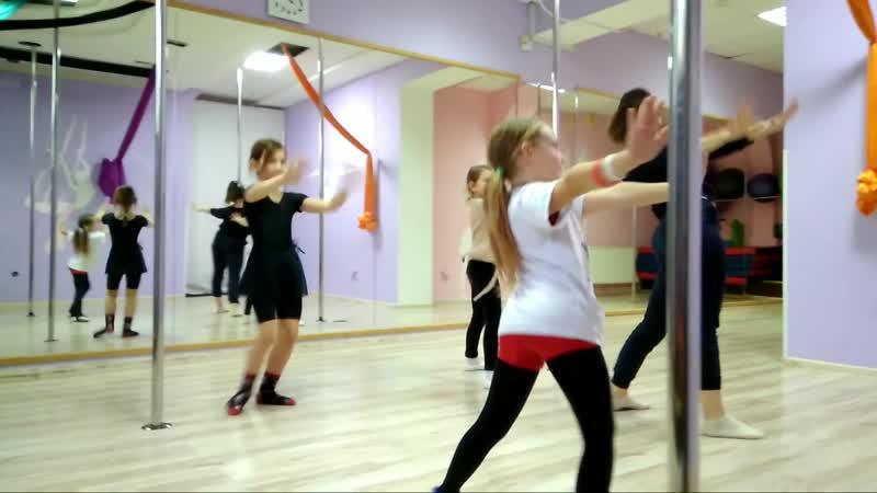 Современная/эстрадная хореография для детей и подростков 7-15 лет. Первое занятие. Тренер Богдана Зимзе