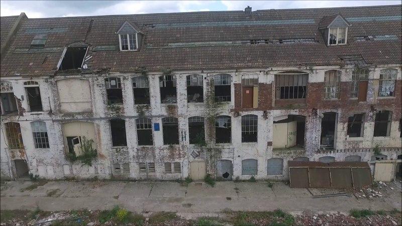 Abandoned Elizabeth Shaws chocolate factory bristol