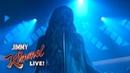 Avril Lavigne - Head Above Water on Jimmy Kimmel Live