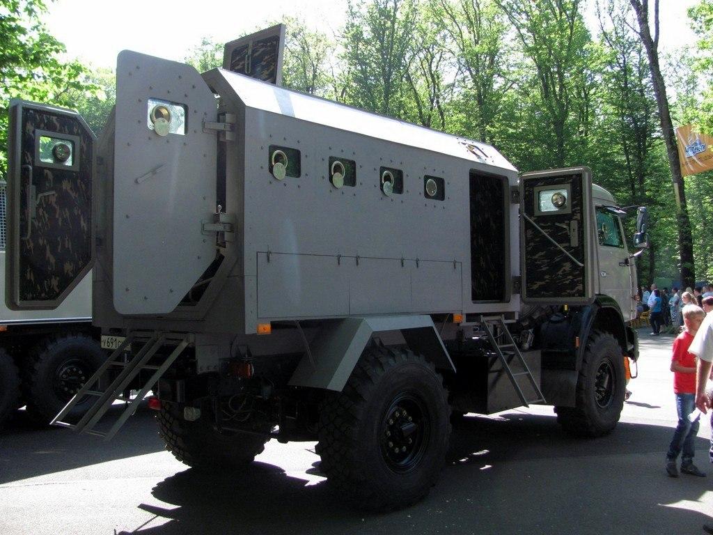 Российские грузовики покоряют мир