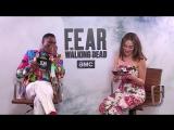 Fear The Walking Dead S4 AMC Brasil Facebook Live - Alycia Debnam-Carey