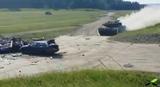 Panzer high speed VS Car (как танком переехали)