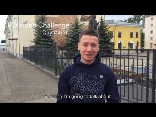 Dmitry Nikitin CPD Challenge Day 4/30
