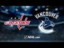 Washington Capitals vs Vancouver Canucks – Oct.22, 2018 | Game Highlights | NHL 18/19 | Обзор матча