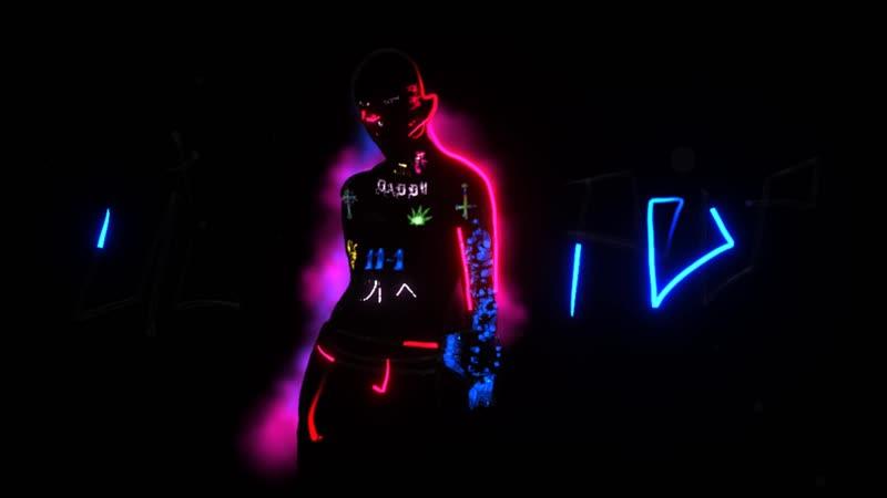 Lil Peep - Runaway (Music Video) VR Tilt Brush Version
