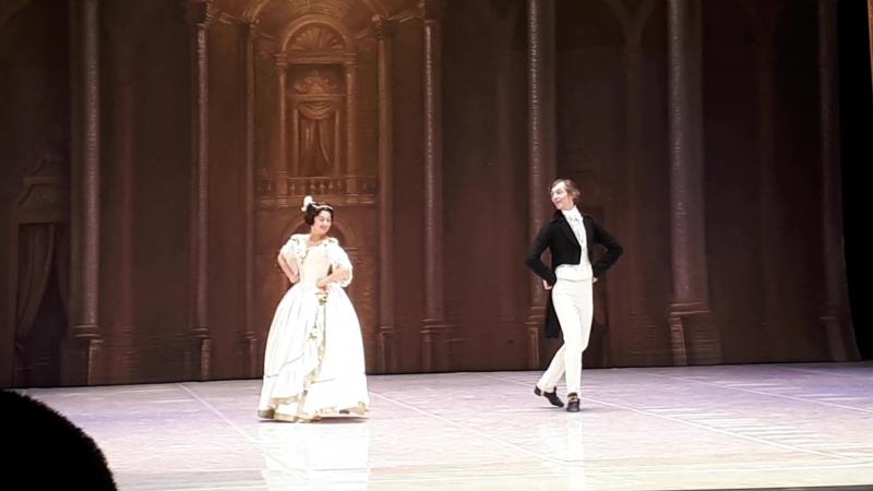 А.Николаева и С.Сосницкий. Полька Анна. Спектакль Танцы короля. 09.10.18.