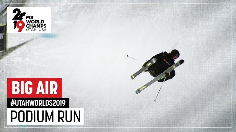 Alex Beaulieu-Marchand | Bronze Medal | Men's Big Air | FIS Freeski World Championships 2019