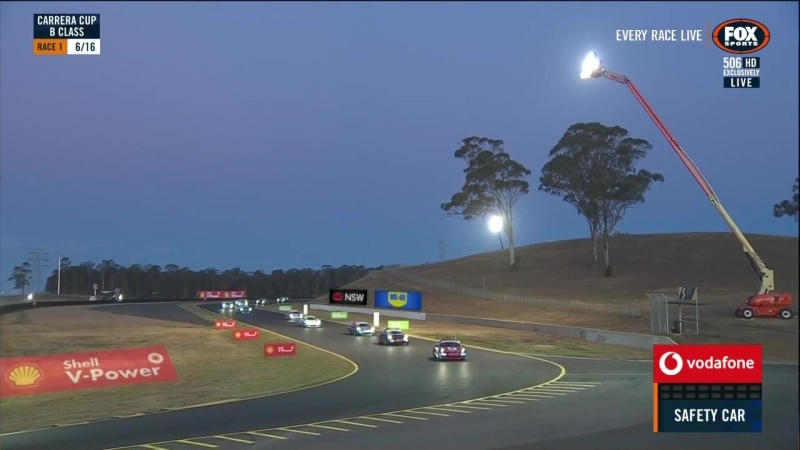 Porsche Carrera Cup Asia Australia 2018 Round 00 Sydney Race3