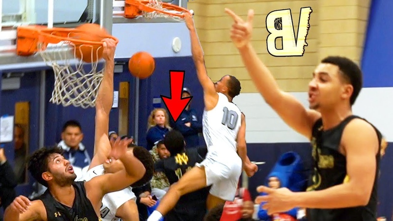 Amari Bailey Scottie Pippen Jr DUNKING ON PEOPLE NOW?! Player Talking BACK To Crowd!