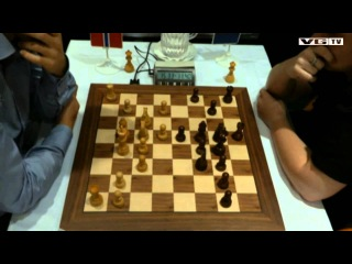 GM Magnus Carlsen - GM Borki Predojevic Rapid Match Lillehammer 2013 game 2