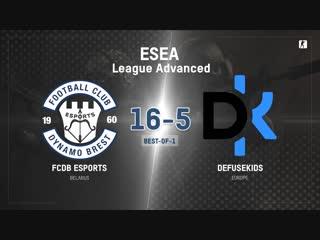 FCDB vs defusekids (BO1) | ESEA League Advanced [Kom]