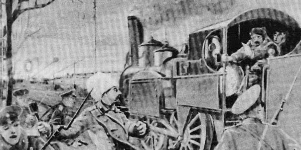 САМЫЙ ГРОЗНЫЙ ОФИЦЕР: ПРИКЛЮЧЕНИЯ БЕЛОГО БРОНЕПОЕЗДА Бронепоезда в Гражданскую войну показали свою эффективность. Вооружали их пушками и пулемётами или использовали как камикадзе такие боевые