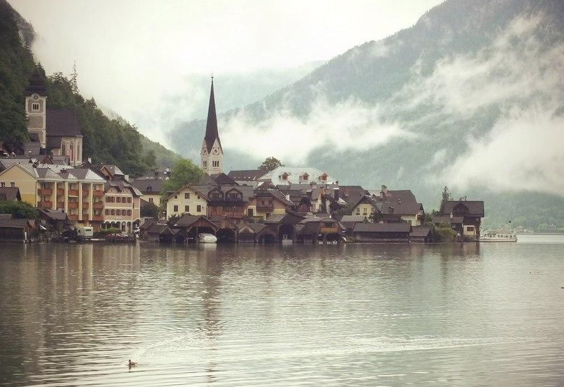 .. могут быль только горные озёра, например Хольштадт!