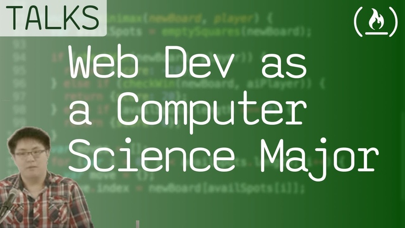How I got into Web Dev as a Computer Science Major